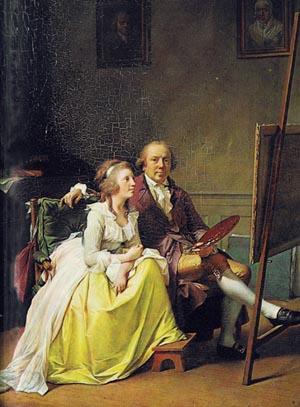Jens Juel og hustru Rosine