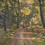 Skovvej ved Dyrnæs