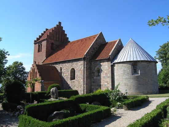 Selsø Kirke - den store danske
