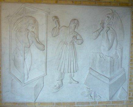Relief Marienlystskolen Flemming Bülow 1