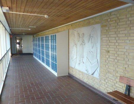 Relief Marienlystskolen Flemming Bülow 2