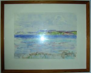 Billedeliste Heimdalsvej 2006_Side_3_Billede_0001 Køser Klinten 1981 akvarel