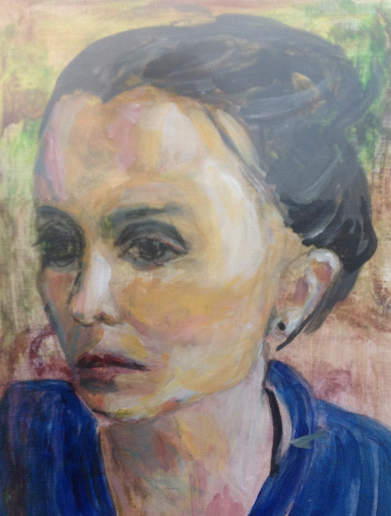 Birgit Andersen Portæt af Ulla Billes datter