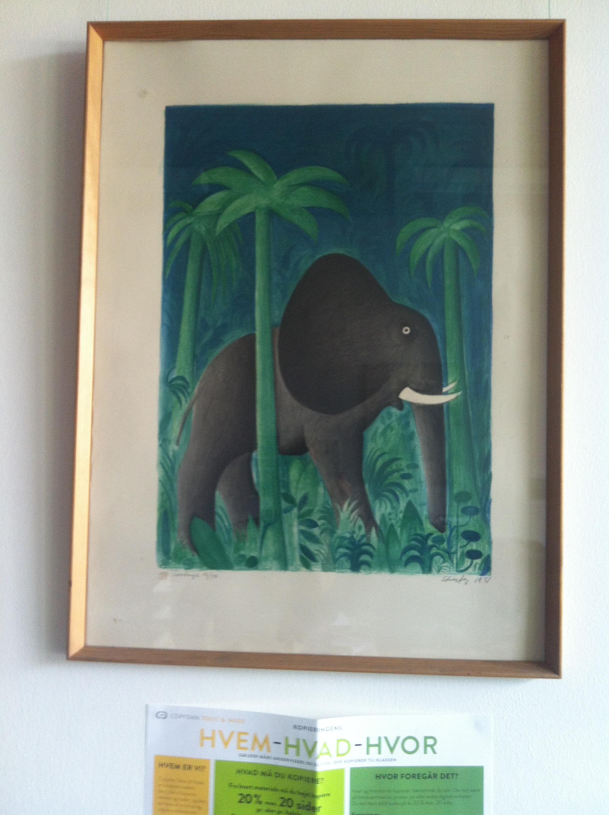 hans-scherfig-tegning-af-elefant-nr-65